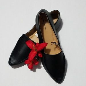 a new day ❤ Faux Leather Loafers
